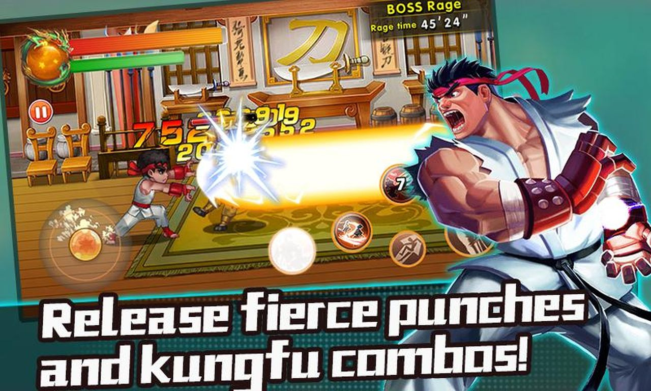 Chaos Fighter Kungfu Fighting APK Mod