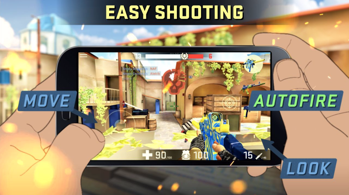Combat Assault FPP Shooter APK Mod