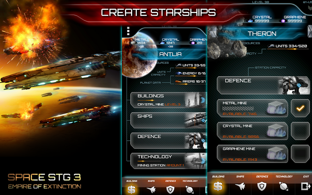 Space STG 3 - Galactic Strategy APK Mod