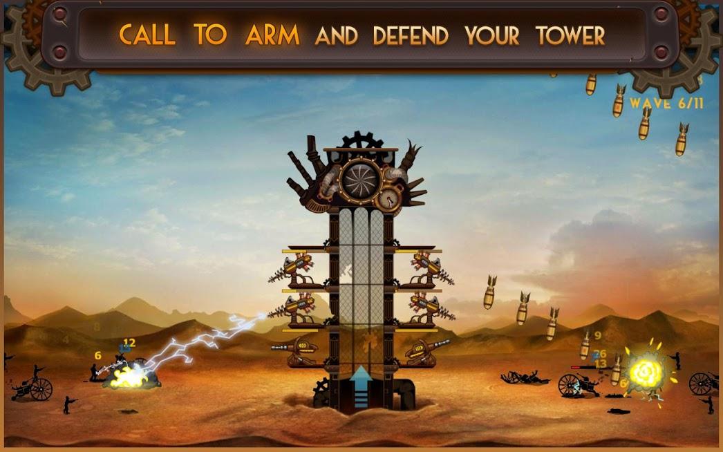 Steampunk Tower APK Mod