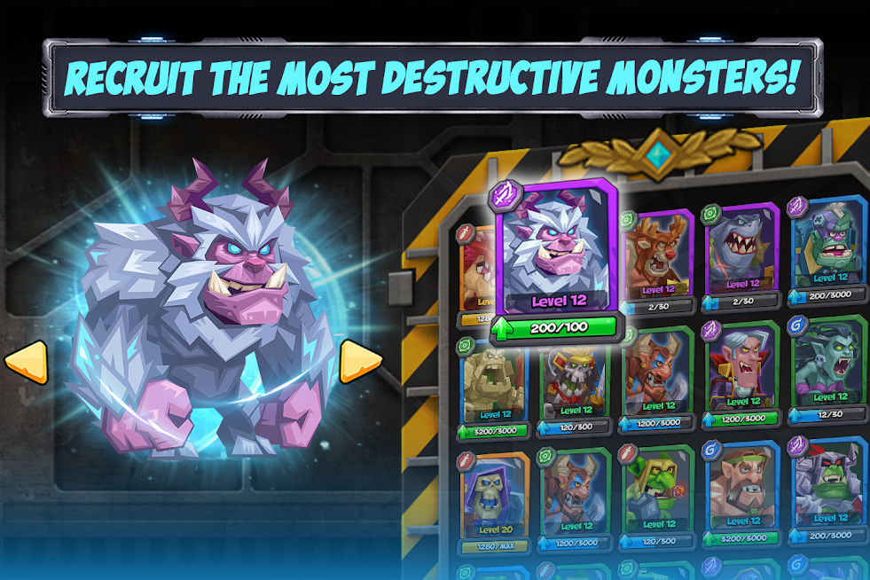 Tactical Monsters Rumble Arena APK Mod