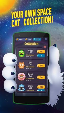 Space Cat Evolution Kitty Collecting In Galaxy APK Mod