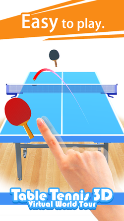 Table Tennis 3D Virtual World Tour Ping Pong Pro APK Mod