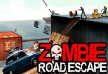 Zombie Road Escape- Smash All The Zombies On Road APK Mod