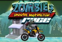Zombie Shooter Motorcycle Race APK Mod