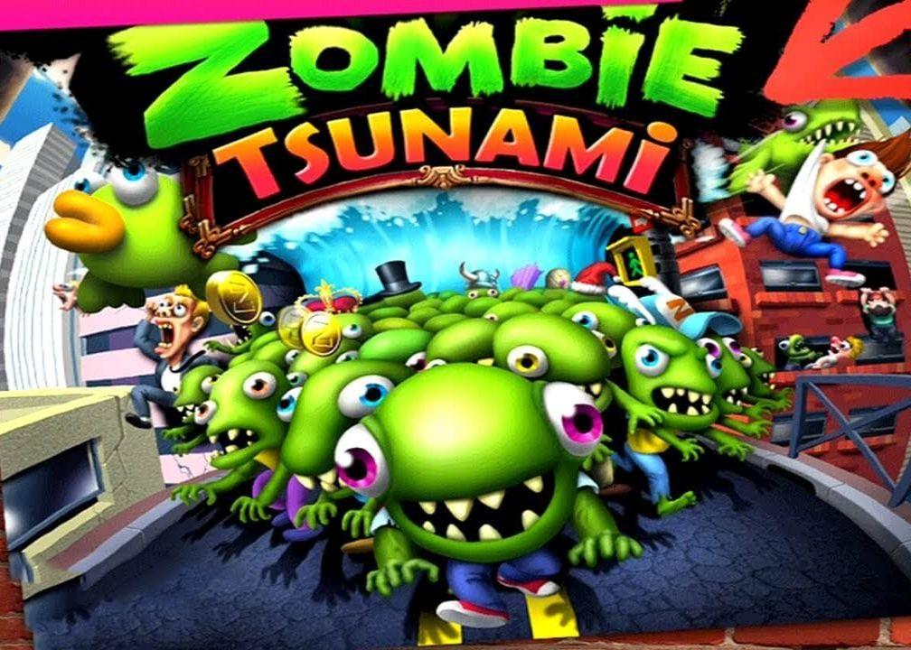 скачать игру зомби цунами мод на деньги на андроид